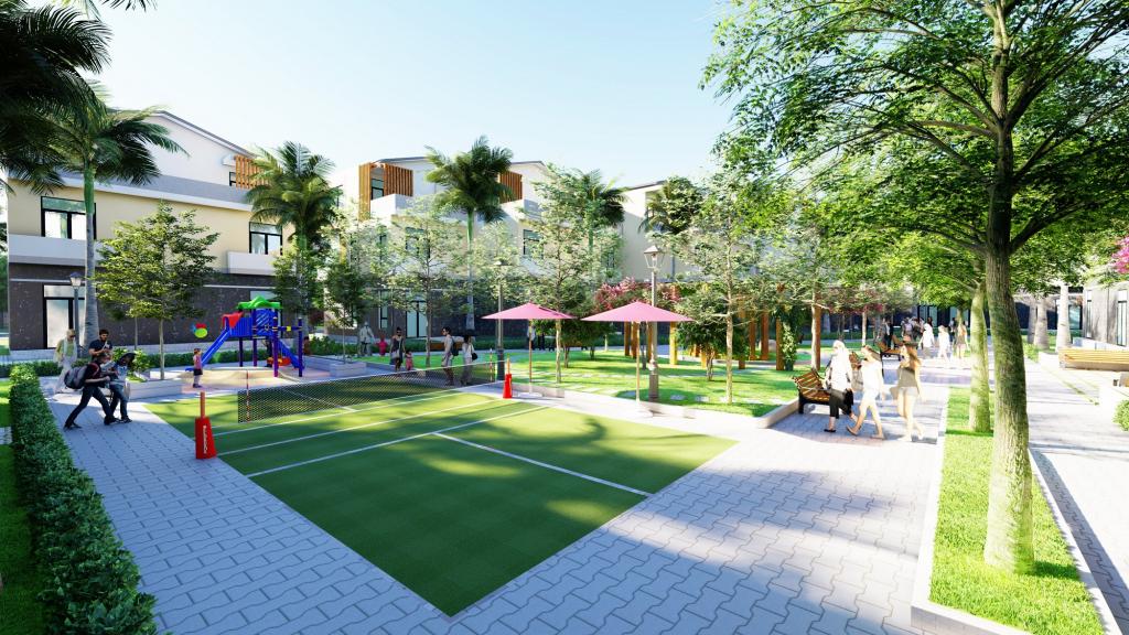 Công viên khu dân cư Trần Văn Chẩm - 90 nền đất Củ Chi giá rẻ