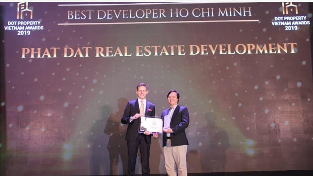 CĐT Nhơn Hội Newcity nhận giải CĐT dự án tốt nhất năm 2019