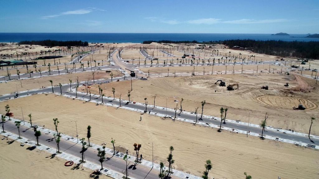 Tiến độ xây dựng Nhơn Hội Newcity Phân Khu 4 đã hoàn thành 95% chỉ trong vòng 2 tháng